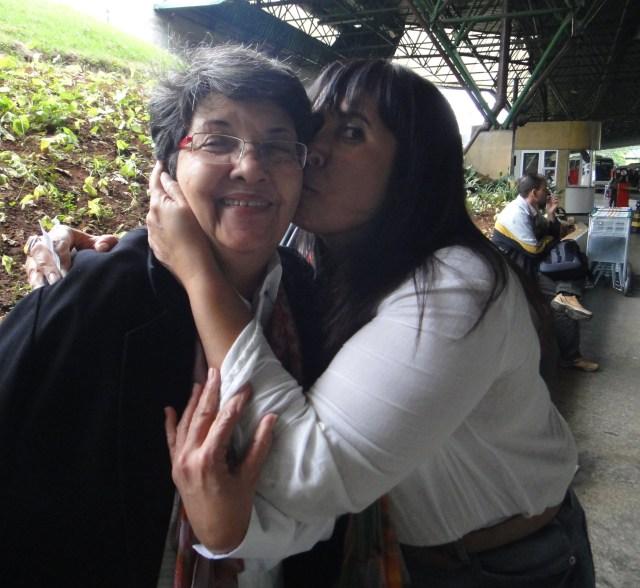 Patricia Cassemiro e Lucia Bezerra