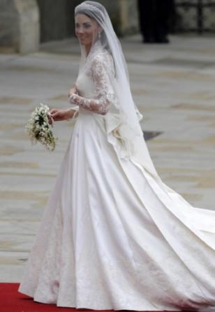 Vestido de casamento da princesa,